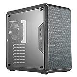 Cooler Master MasterBox Q500L Caja de Ordenador ATX Mini Torre con Vista Total Panel Lateral, Cableado Ordenado y Múltiples Opciones Enfriamiento