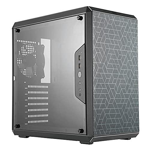 Cooler Master MasterBox Q500L - ATX Mini Tower-Gehäuse mit vollständigem Seitenpanel-Display, sauberem Routing und mehreren Kühloptionen