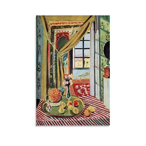 LUFANG He Matisse Leinwand-Kunst-Poster und Wandkunstdruck, modernes Familienschlafzimmer, 60 x 90 cm