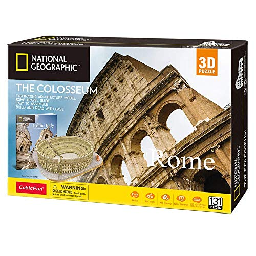 World Brands National Geographic Puzzle 3D, Colore Marrone, DS0976