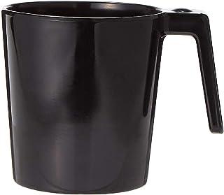 Melamine Laura Mug Black 260Ml