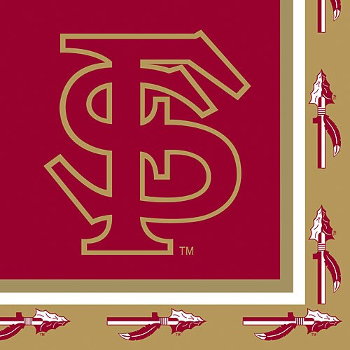 20-Count Paper Lunch Napkins, Florida State Seminoles