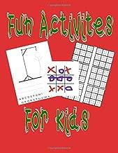 Fun Activities For Kids: 3 Different Activities. Hangman, Tic Tac Toe and Sudoku.