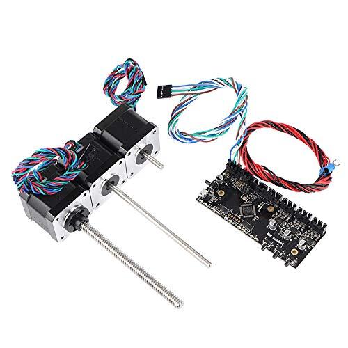 Nrpfell Prusa I3 MK3 Multi Materials 2.0 Placa MMU2 Placa con Cable de Se?Al de AlimentacióN y Kit de Motores Prusa I3 MMU2.0 Kit de Motor de Tornillo de Plomo Impresora 3D