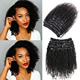 Best Clip In Hair Extensions - Urbeauty Afro Kinky Curly Clip in Human Hair Review