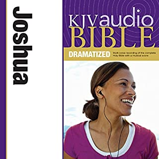 Dramatized Audio Bible - King James Version, KJV: (06) Joshua audiobook cover art