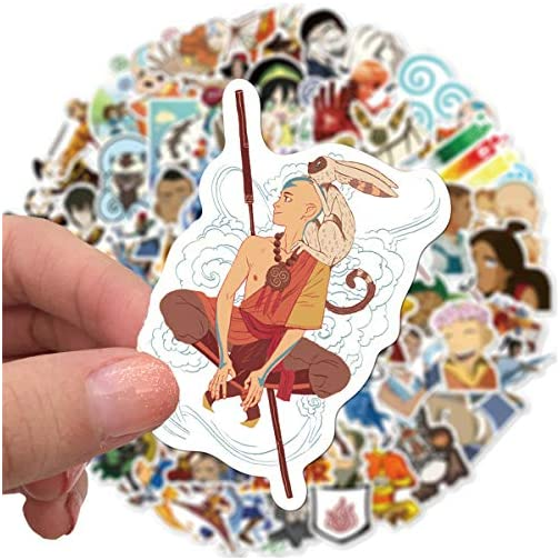 Avatar The Last Airbender Stickers 100PCS Variety Vinyl Waterproof Car Sticker Motorcycle Bicycle Luggage Decal Graffiti… |