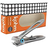 Best Toe Nail Clippers - Kohm CP-120L 5mm Heavy Duty, Wide Jaw Toenail Review