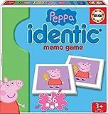 Educa - Identic Peppa Pig Juego Educativo para Bebés, Multicolor (16227)