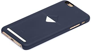 Bellroy Leather iPhone 6 Plus Phone Case - 1 Card Blue Steel