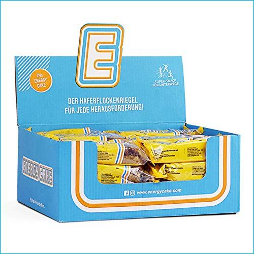 Energy Cake – Haferflocken Riegel mit langkettigen Kohlenhydraten, weniger Zucker & einzigartigem Geschmack – original Fitness Snack & Oat Meal Snack aus Österreich - Schoko-Banane 24x 125g (3kg)