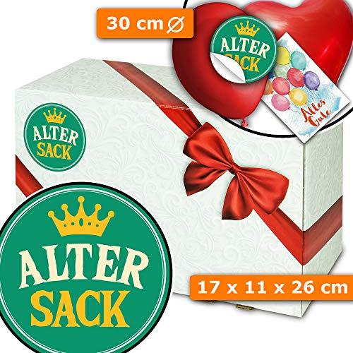 Alter Sack - Geschenkkiste - Geburtstag alter Sack 60
