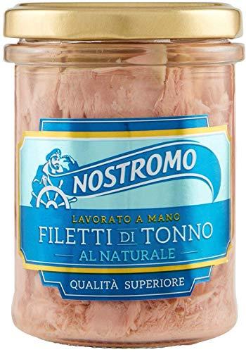 Nostromo Filetti Di Tonno Al Naturale Nel Vetro - 180 Gr