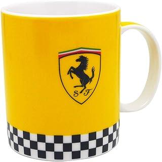 [ Ferrari ] PANINI SF スクーデリア フェラーリ オフィシャル チェッカー マグカップ