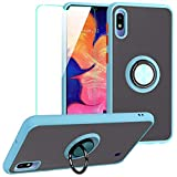 SHIYISHI for Samsung Galaxy A10 Case with Screen Protector, Slim Durable Hybrid St