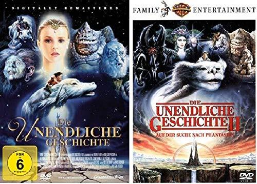 Die unendliche Geschichte Teil 1+2 [DVD Set] Original Kinofilme