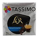 TASSIMO L'Or Café Decaffeinato - 5 paquetes de 16 cápsulas: Total 80 unidades