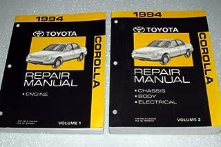 1994 Toyota Repair Manual (Volumes 1 and 2)