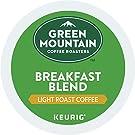 Green Mountain Coffee Breakfast Blend Keurig Single-Serve Light Roast Coffee K-Cup Pods, 32 Count