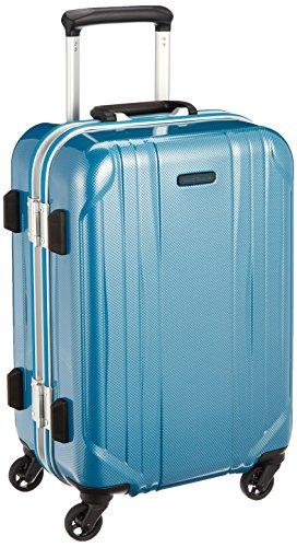 [ワールドトラベラー] スーツケース サグレス ストッパー付 機内持ち込み可 31L 48 cm 3.5kg ブルーカーボン