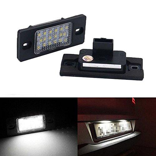 GOFORJUMP pour P/orsche Cayenne 955 957 VW Touareg Passat Aucune Lampe ErrorLicense Plaque