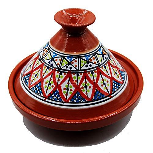 Tajine Pentola Terracotta Piatto Etnico Marocchino Tunisino M 22cm 3010201123