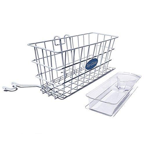 Heavy Duty Clear Plastic Insert/Tray/Cup Holder for Walker Basket