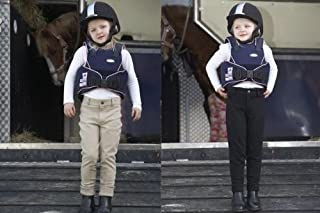 William Hunter Equestrian Toggi Childs 'Showring' Jodhpurs With Knee Patches, Colours: Beige, Black Or Navy. Sizes: 18