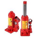 Cric idraulico 3t, Hydraulic Bottle Jack Cric Bottiglia Leva di veicolo a pompa Idraulica ...