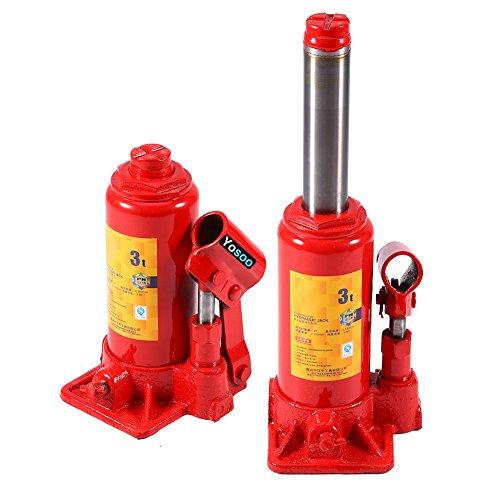 Zerone hydraulische krik, 2T/3T/5T/6T/8T, hydraulische krik, hydraulische pomp, bandenwissel, knutselen, auto 3T