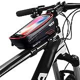 GOLDGOD Étanche Sacoche De Cadre Vélo, Grande Capacité Sac De Téléphone De Vélo avec Sensible...
