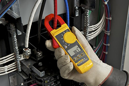 Fluke 325 - Pinza Amperimétrica 400A AC/DC, Verdadero Valor Eficaz y Medición de Temperatura