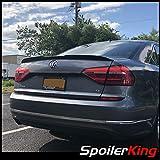 SpoilerKing Trunk Lip Spoiler with Center Cut (284GC) Compatible with Volkswagen Passat 2012-2019