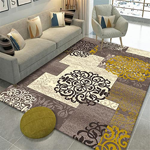 Alfombras Exterior Terraza Multicolor alfombras a medida online Cómoda y suave alfombra de pelo corto, antideslizante y resistente a las manchas, el dormitorio del salón se puede personalizar Alfombra