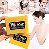Instant Miracle Whitening Soap, Stcorps7 Skin Lightening Soap Bleaching Brightening for Dark Skin (1pc.)
