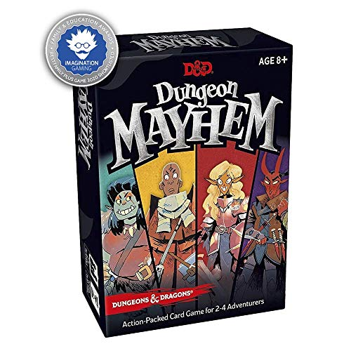 Dungeons & Dragons Dungeon Mayhem – Kartenspiel - Englische Version