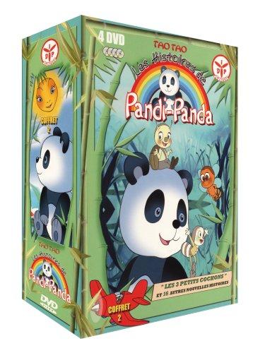 Pandi Panda-Partie 2-Coffret 4 DVD-VF