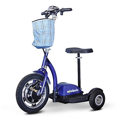 Discover Bargain Stand and Ride Scooter Color: Blue