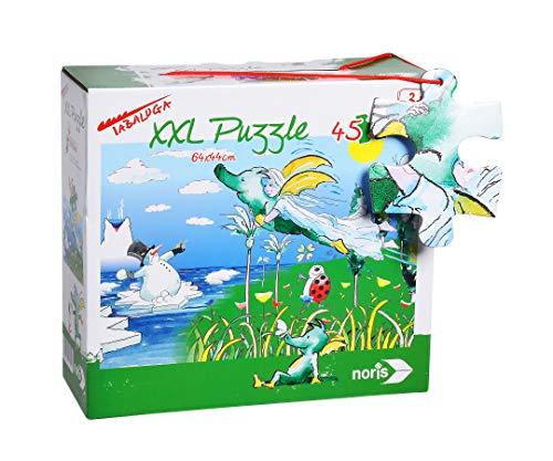 Noris 606031701 XXL Riesenpuzzle, Tabaluga - mit 45 Teilen (Gesamtgröße: 64 x 44 cm) - für Kinder ab 3 Jahren