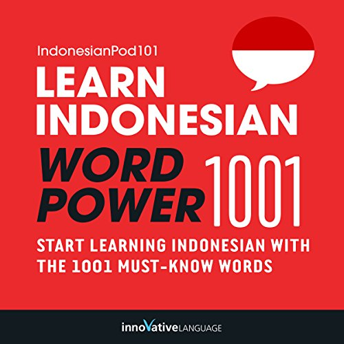 Learn Indonesian - Word Power 1001 audiobook cover art