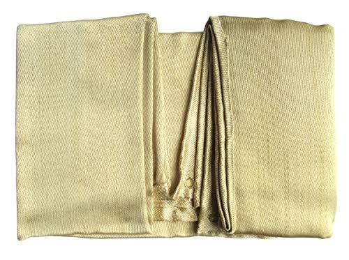 Tonyko Manta protectora de fibra de vidrio resistente, manta de supervivencia de emergencia, manta de soldadura y manta ignífuga con varios tamaños(1.5*1.5m)