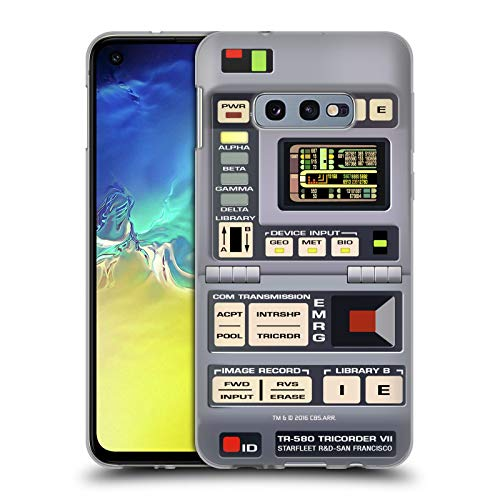 Head Case Designs Officially Licensed Star Trek Tricorder Gadgets TNG Soft Gel Case Compatible with Samsung Galaxy S10e