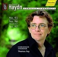 Complete Symphonies 13: Symphonies 93 96 & 97 by JOSEPH HAYDN (2010-09-28)