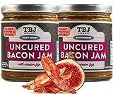 TBJ Gourmet Balsamic Fig Bacon Jam - Original Recipe Bacon Spread - Uses Real...