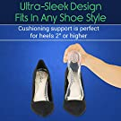 ViveSole High Heels Inserts for Women - Silicone Gel Dress Shoe Insole - Durable, Comfortable Metatarsal Pad - Orthopedic Foot Heel Cup for Plantar Fasciitis, Blister Prevention, Heel Spur Pain Relief #1