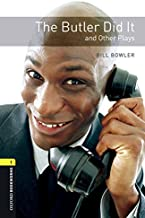 Oxford Bookworms Library: Level 1: The Butler Did It and Other Plays Audio Pack