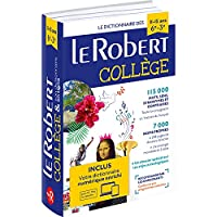 Le Robert College 2021 with Digital Card (Dictionnaires Langue Francaise)