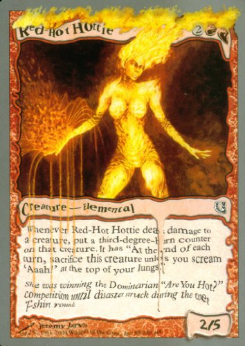 Magic The Gathering - Red-Hot Hottie - Unhinged