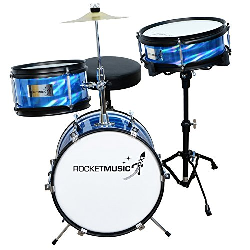 A-Star Rocket Music DKJ01BL Junior Schlagzeug (3-teiliges)