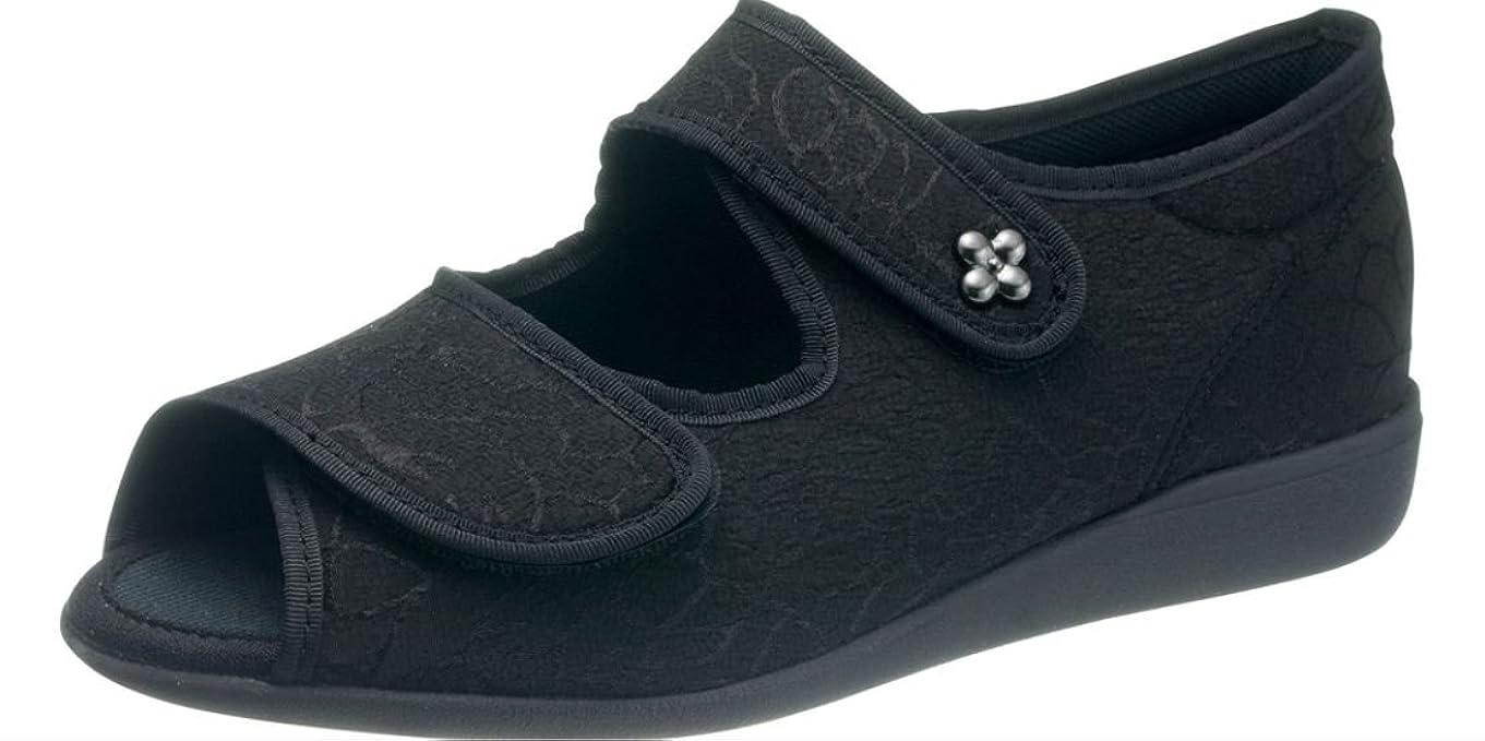 アプト寝室ピンチ快歩主義 L133SL ブラック 【 3E 】 ?歩くことを医学的に分析して開発しました。もっと元気になれる靴?快歩主義